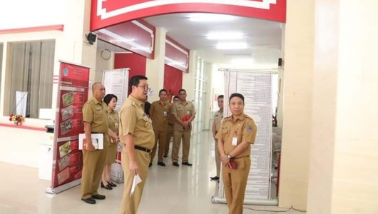Sidak PMPTSP Sulut, Wagub Kandouw: Jangan Ribet dan Berbelit-belit Berikan Pelayanan ke Masyarakat