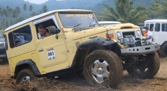 Wali Kota Tomohon Jajal Medan Off Road Poopo Minsel