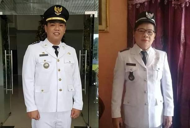 Camat Kumelembuai Michael Kamang Waworuntu, SSTP dan Hukum Tua Desa Kumelembuai Atas Lilly Lapian, SPd