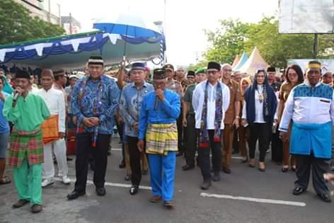 Dihadiri Wakil Ketua DPR-RI, Lomban Buka Festival Walimah dan Tablig Akbar 1441 H