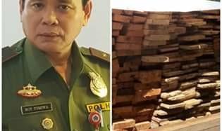 Dinas Kehutanan Sulut Pastikan Usut Tuntas Dalang Ilegal Logging di Ratatotok