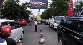 Dishub Manado Bantu Polisi Atur Lalu Lintas