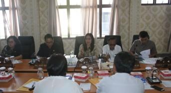 MJLW Pimpin Raker Komisi III DPRD Tomohon dengan Mitra Kerja