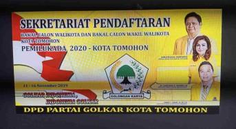 Golkar Tomohon Buka Pendaftaran Calon Pilkada