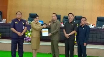 Wali Kota Tomohon Jelaskan Perubahan Ranperda RPJPD kepada DPRD