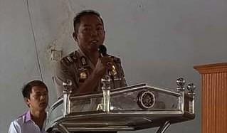 Jalin Kemitraan, Polres Minsel Sampaikan Pesan Kamtibmas di Ibadah Gereja