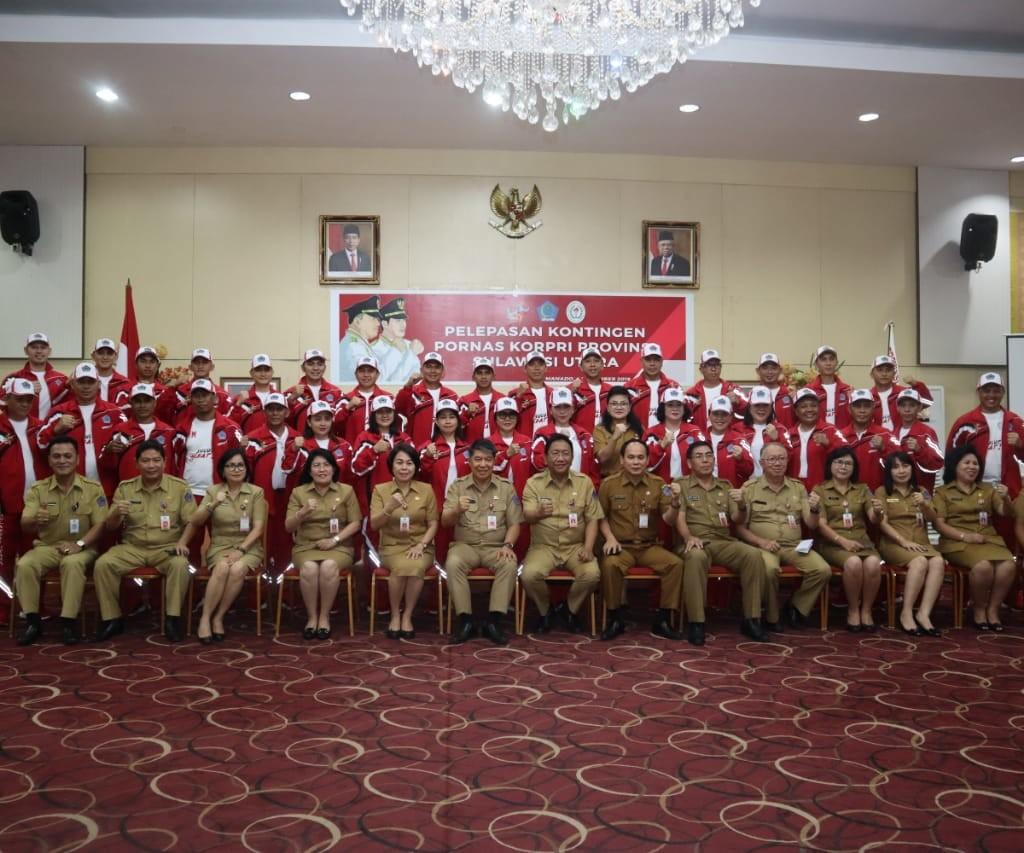kontingen Pornas Korpri ke-XV tahun 2019 Provinsi Sulut