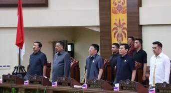 OD – SK Hadiri Rapat Paripurna Ranperda APBD Sulut T.A. 2020
