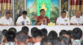 Gubernur Olly Bekali Pelsus Laki-Laki Sinode GMIM Materi Wawasan Kebangsaan