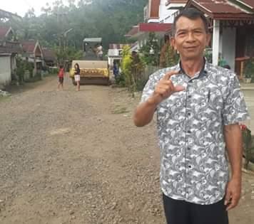 Penjabat Hukum Tua Desa Raanan Lama Ferdy Sengkey