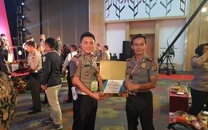 Raih Penghargaan Pelayanan Publik Predikat Baik 2019, Kapolres Minahasa Apresiasi Wartawan