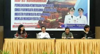 Tancap Gas Lebih Awal, Pemkot Manado Mantapkan Persiapan Manado Fiesta 2020
