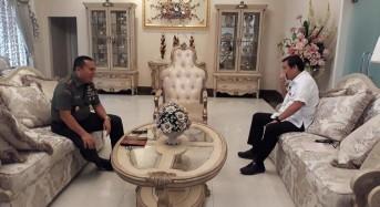 Terima Kunjungan Pangdam XIII/Merdeka, Wagub Kandouw: Koordinasi Keamanan Daerah