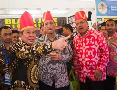 Walikota Bitung Hadiri Pembukaan Archipelagic And Island State Forum 2019 di Manado