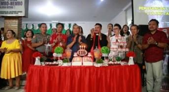 Walikota Bitung Hadiri Perayaan HUT ke-116 GMIM Pniel Manembo-nembo