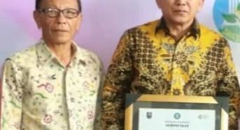 Ketua DPRD Tomohon Hadiri Penganugerahan Kabupaten dan Kota Sehat