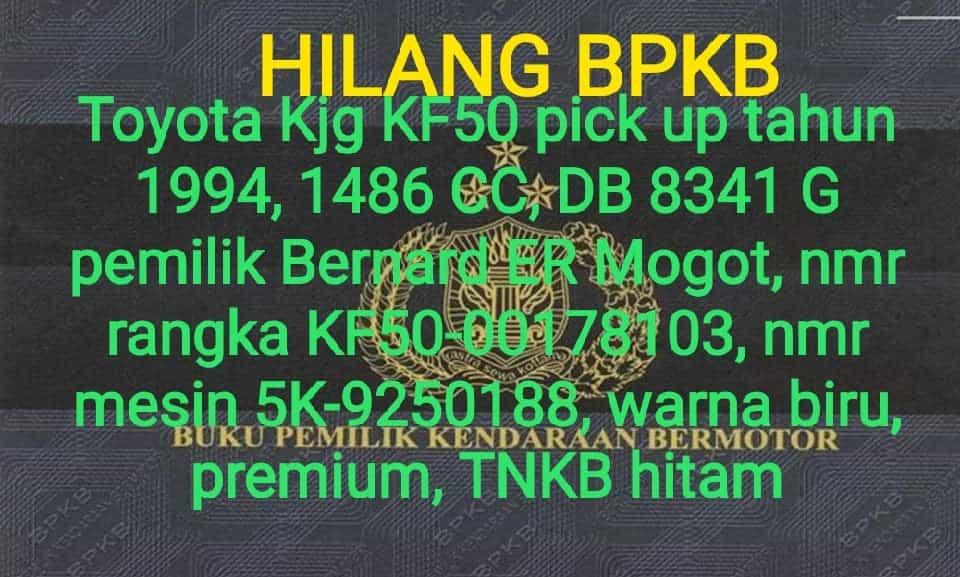 bpkb 1