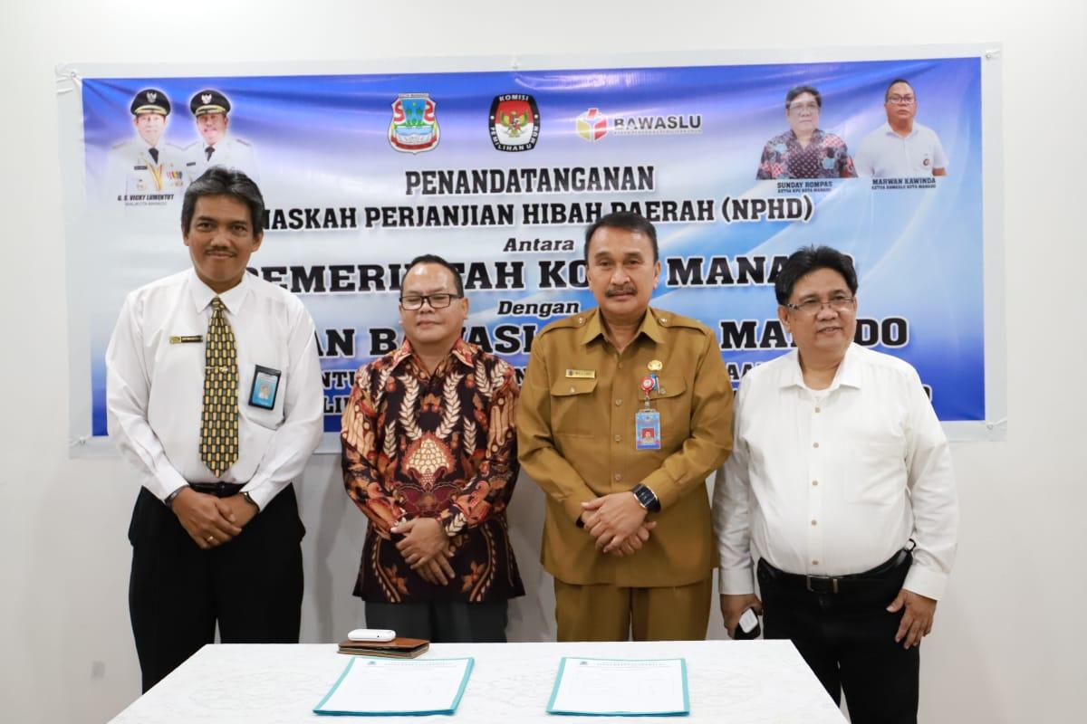 KPU dan Bawaslu Manado Terima Rp 54 M Dana Penyelenggaraan Pilwako 2020