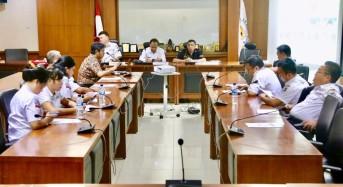 Difasilitasi SBANL, LPM Tomohon Kunjungi DPD-RI