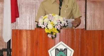 Tanggapi Pemandangan Umum tentang Perubahan RPJPD, Eman Apresiasi DPRD Tomohon
