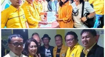 PIlkada 2020, 15 Bakal Calon Mendaftar di Golkar Tomohon