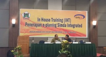 IHT E-Planning Simda Integrated Tomohon Ditutup