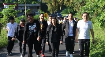 Ketua DPRD Tomohon Pimpin Kegiatan Olahraga