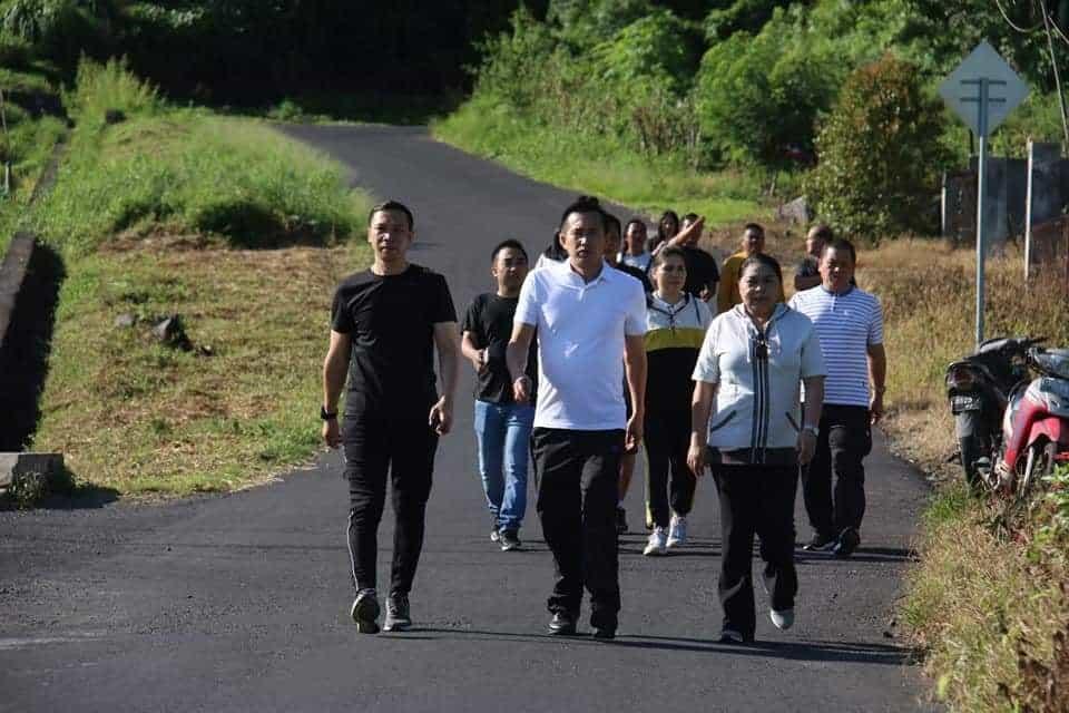 Jalan sehat DPRD Kota Tomohon
