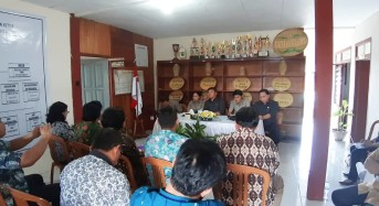 Komisi I DPRD Tomohon Bangun Sinergitas