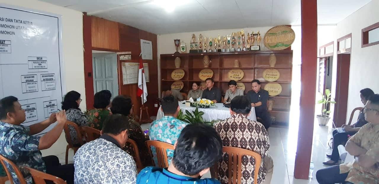 Komisi I DPRD Tomohon di Kecamatan Tomohon Utara