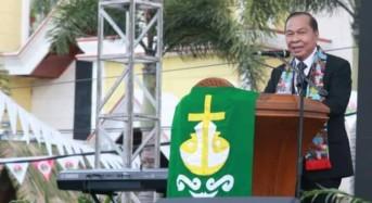 Lomban Hadiri Ibadah Pembukaan SMST GMIM ke-32