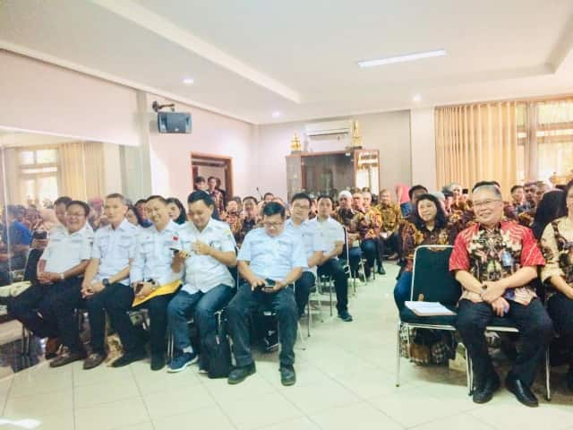 Kunker LPM Tomohon di Kota Bandung