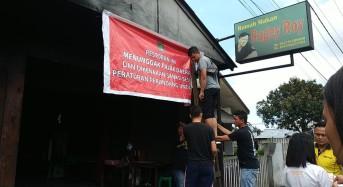 Tunggak Pajak, Pemkot Tomohon Segel Ragey Roy