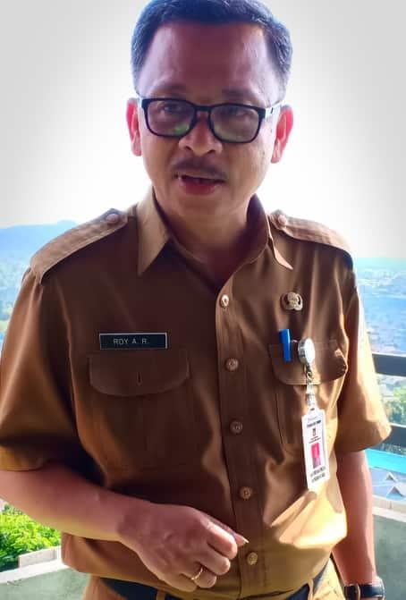 Kepala Bapelitbangda Kota Tomohon Royke Ambrosius Roeroe SP MAP