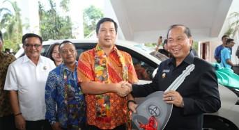 Serahkan Penghargaan 'Paritrana' di Pemkot Bitung, Wagub Kandouw: Pak Gubernur Objektif Nilai Mana yang Bagus
