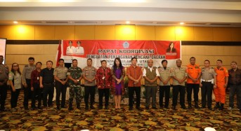 Wagub Kandouw Buka Rakor Penguatan Penanganan Bencana Provinsi Sulut