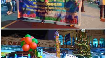 Umat Muslim Kampung Jawa Ikut Parade Selebrasi Natal Tomohon 2019