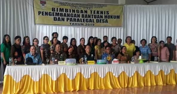 Delapan Desa di Kecamatan Ambar Laksanakan Pelatihan Bantuan Hukum dan Paralegal