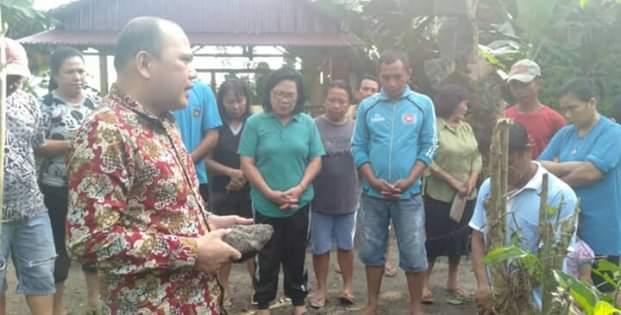 Desa Kumelembuai Atas Gunakan Dandes Tahap III Tahun 2019 Bangun Drainase dan Pemberdayaan1