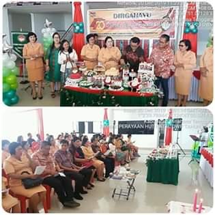Dharma Wanita Persatuan Kabupaten Mitra Rayakan HUT ke-20 Dan Pra Natal