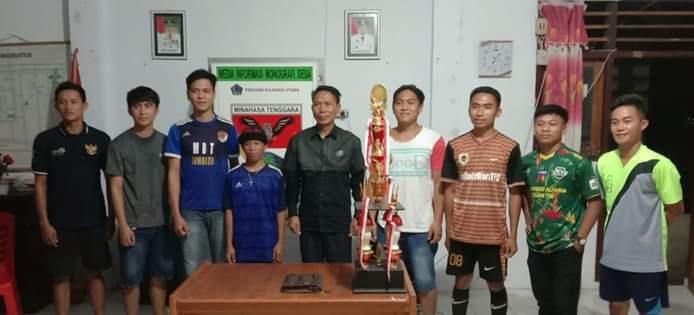 Di Desa Betelen Tombatu,8 Tim Sepakat Gelar Tournament Bertajuk