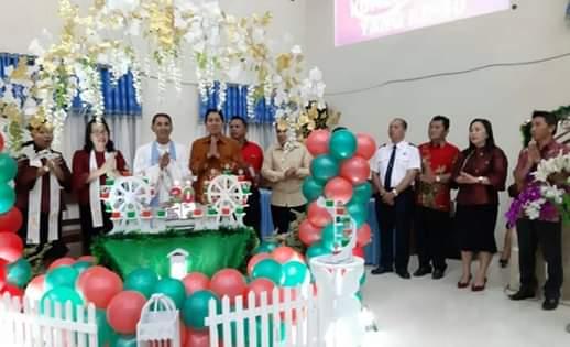 GMIM Exodus Kumelembuai Gelar Ibadah Sambut Natal dan HUT ke-30
