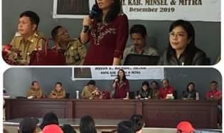 Gelar Reses, Anggota DPRD Provinsi Djein Leonora Rende Siap Perjuangkan Aspirasi Masyarakat