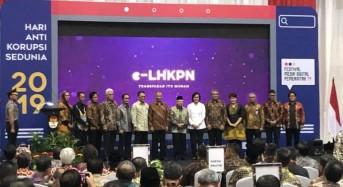 BSG Raih LHKPN Terbaik 2019 di Hari Anti Korupsi