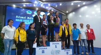 Raih 5 Emas, 1 Perak, 3 Perunggu, Tomohon Juara Umum Dance Sport Porprov