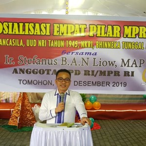 SBANL Sosialisasi Empat Pilar MPR-RI di Walian Tomohon Selatan