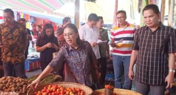 Dipimpin Miky Wenur, Komisi III DPRD Tomohon Cek Ketersediaan Bahan Pokok Jelang Natal