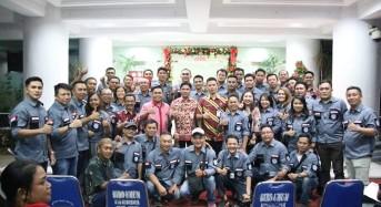 JIPS Gelar Ibadah Pra Natal Bersama Cleaning Service Kantor Gubernur Sulut