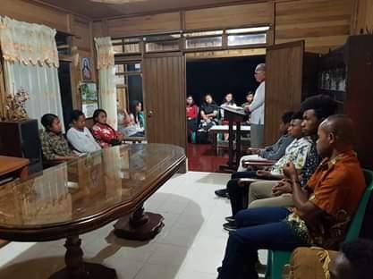 Jalin Persatuan Dan Kerukunan, keluarga besar papua gelar ibadah oikumene