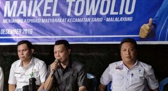 Gelar Reses Perdana, Maikel Towoliu Tampung Aspirasi Masyarakat Malalayang 2